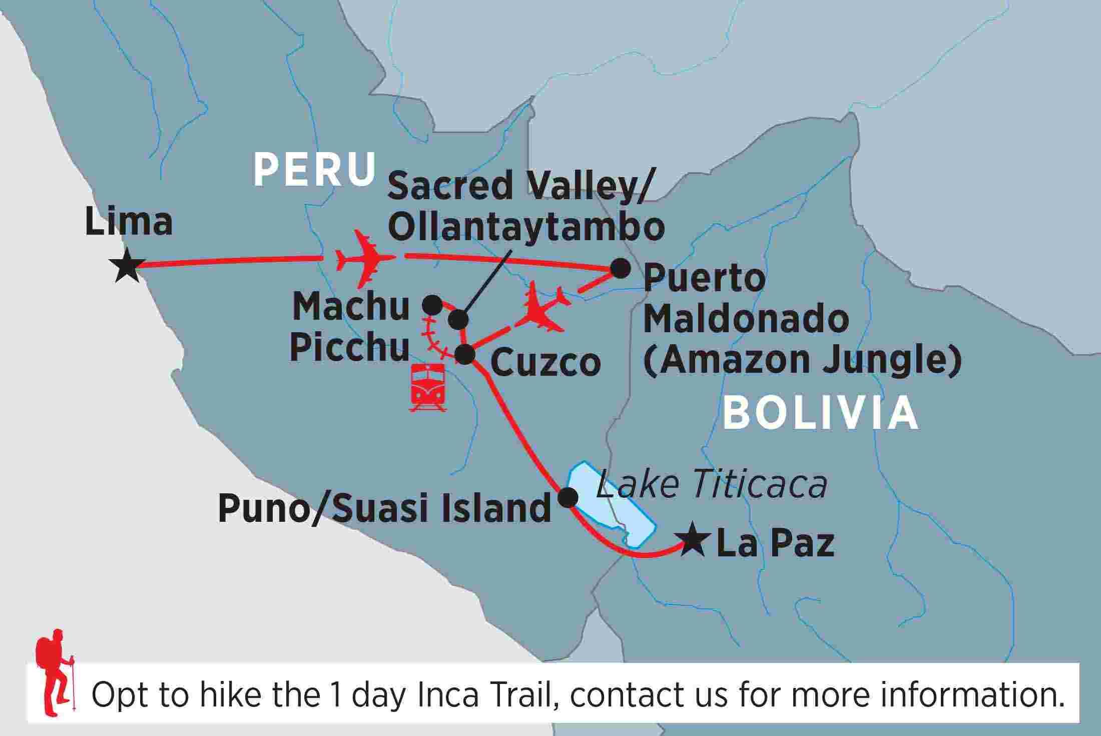 Amazon & Inca Adventure overview | Amazon & Inca Adventure