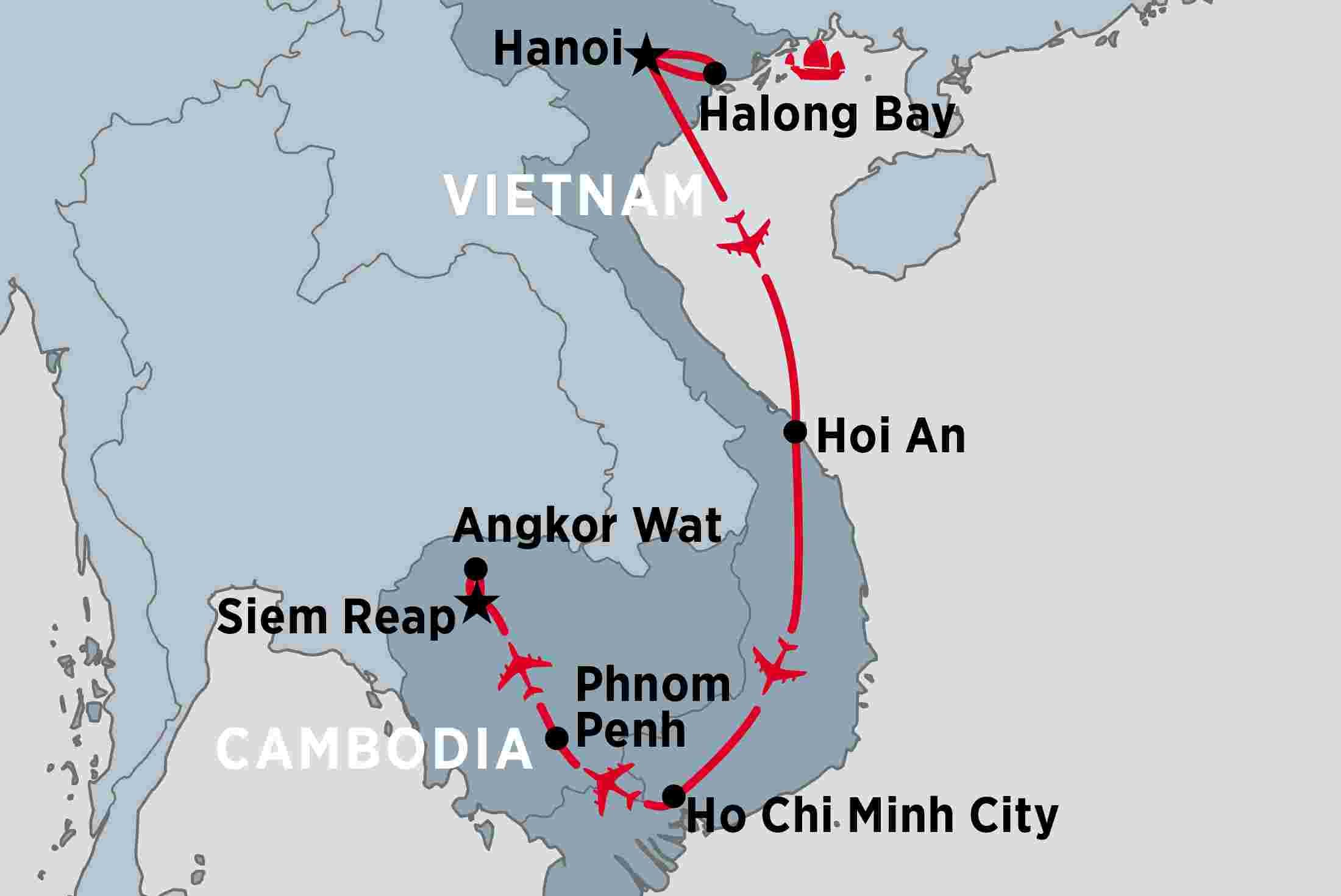 Heritage Vietnam Cambodia Peregrine Adventures Au