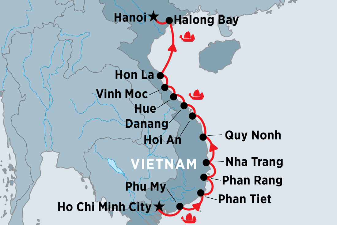 Cruising the Coast of Vietnam: South to North | Peregrine Adventures AU