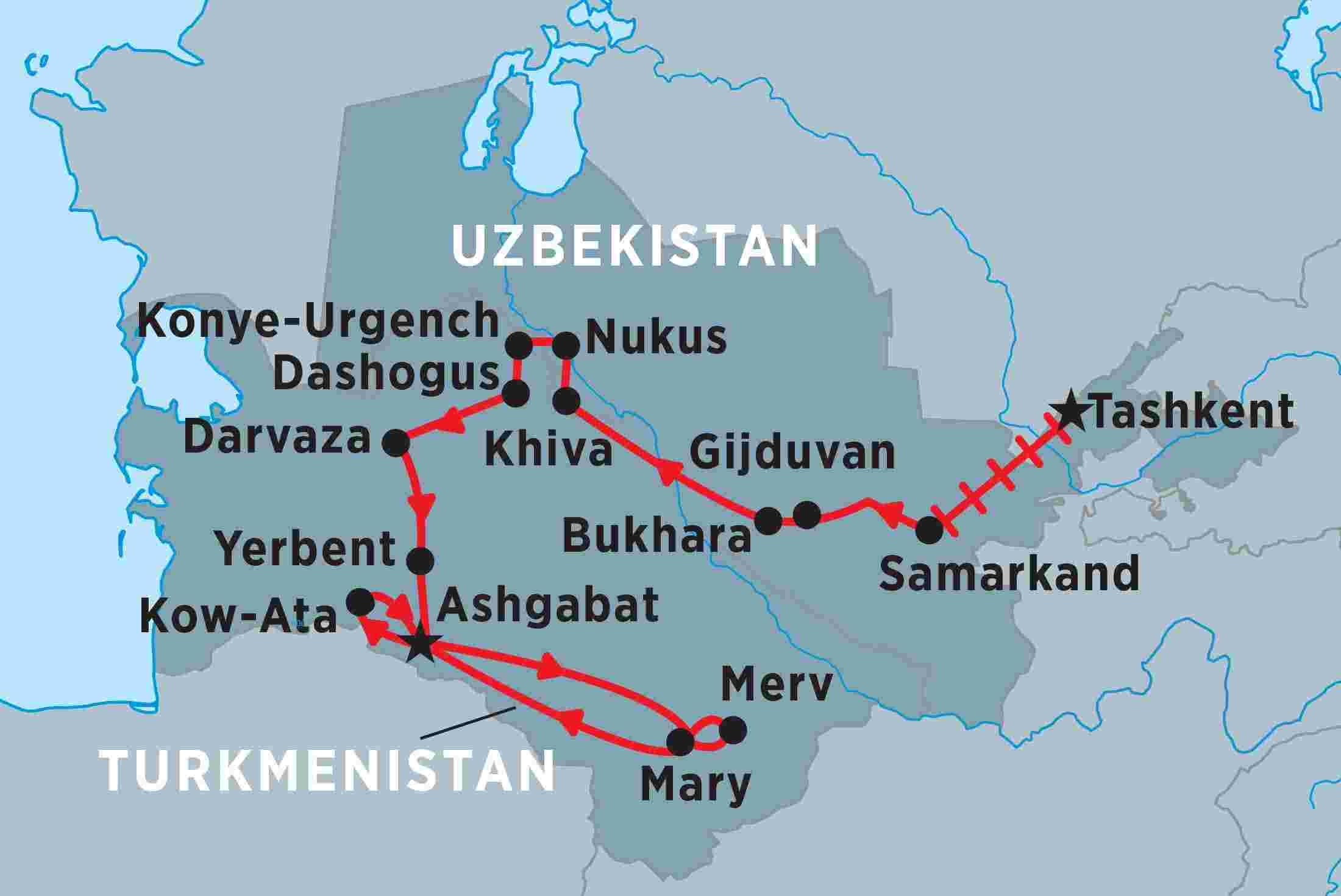 uzbekistan turkmenistan discoverer trip notes peregrine adventures