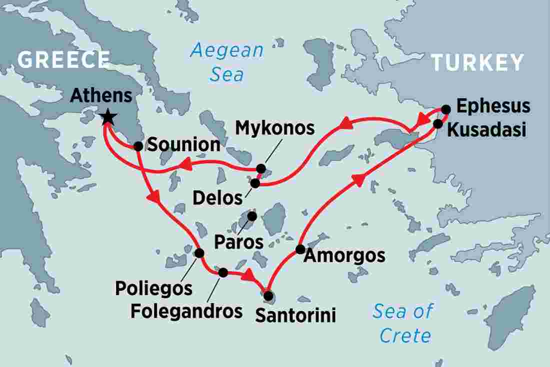 Cruising the Islands of Greece & Turkey overview | Cruising the Islands of  Greece & Turkey