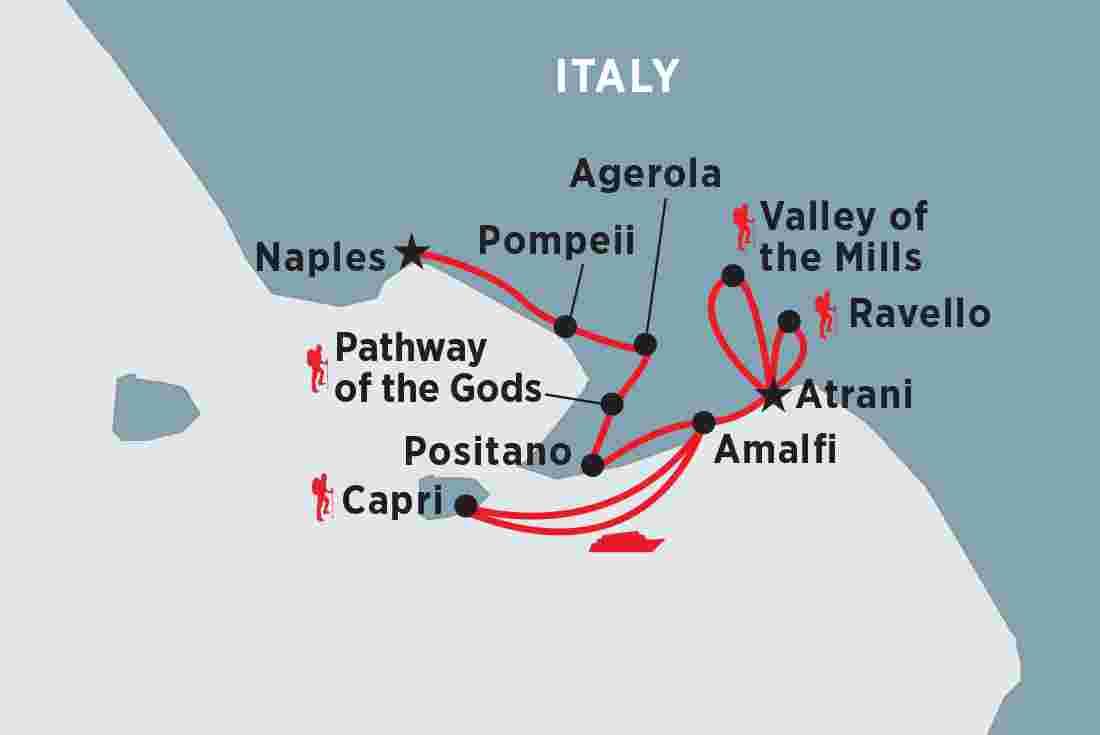 Walking In Italy The Amalfi Coast Peregrine Adventures Au
