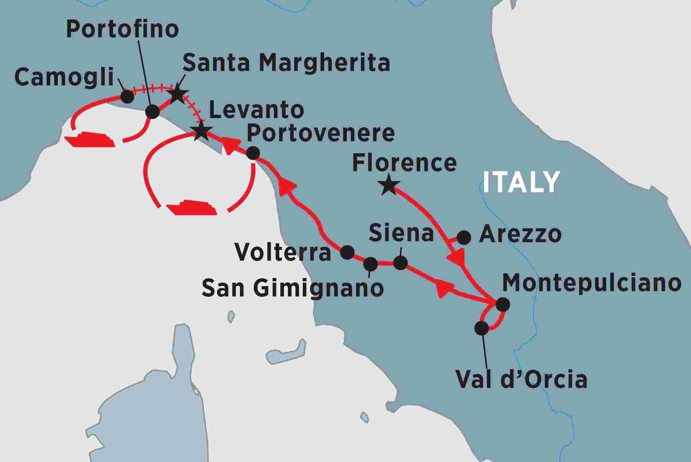 Tuscany Cinque Terre Explorer Trip Notes Peregrine Adventures