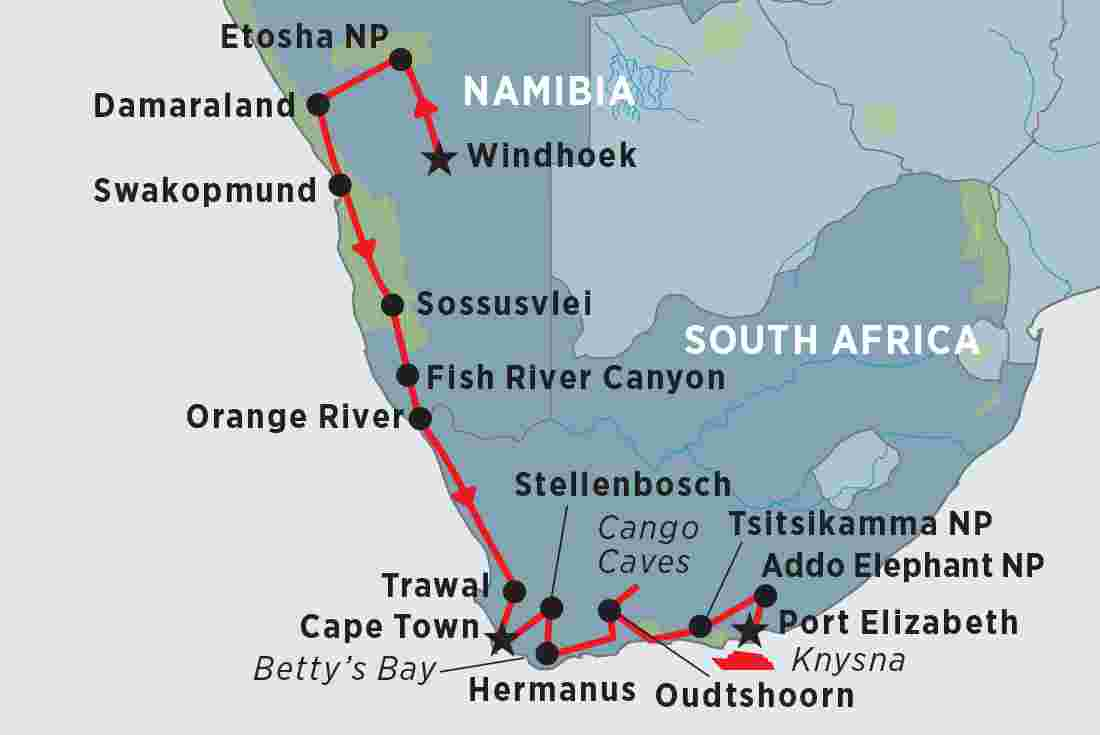 Namibia South Africa 39 S Garden Route Overview Namibia South Africa 39 S Garden Route En Nz
