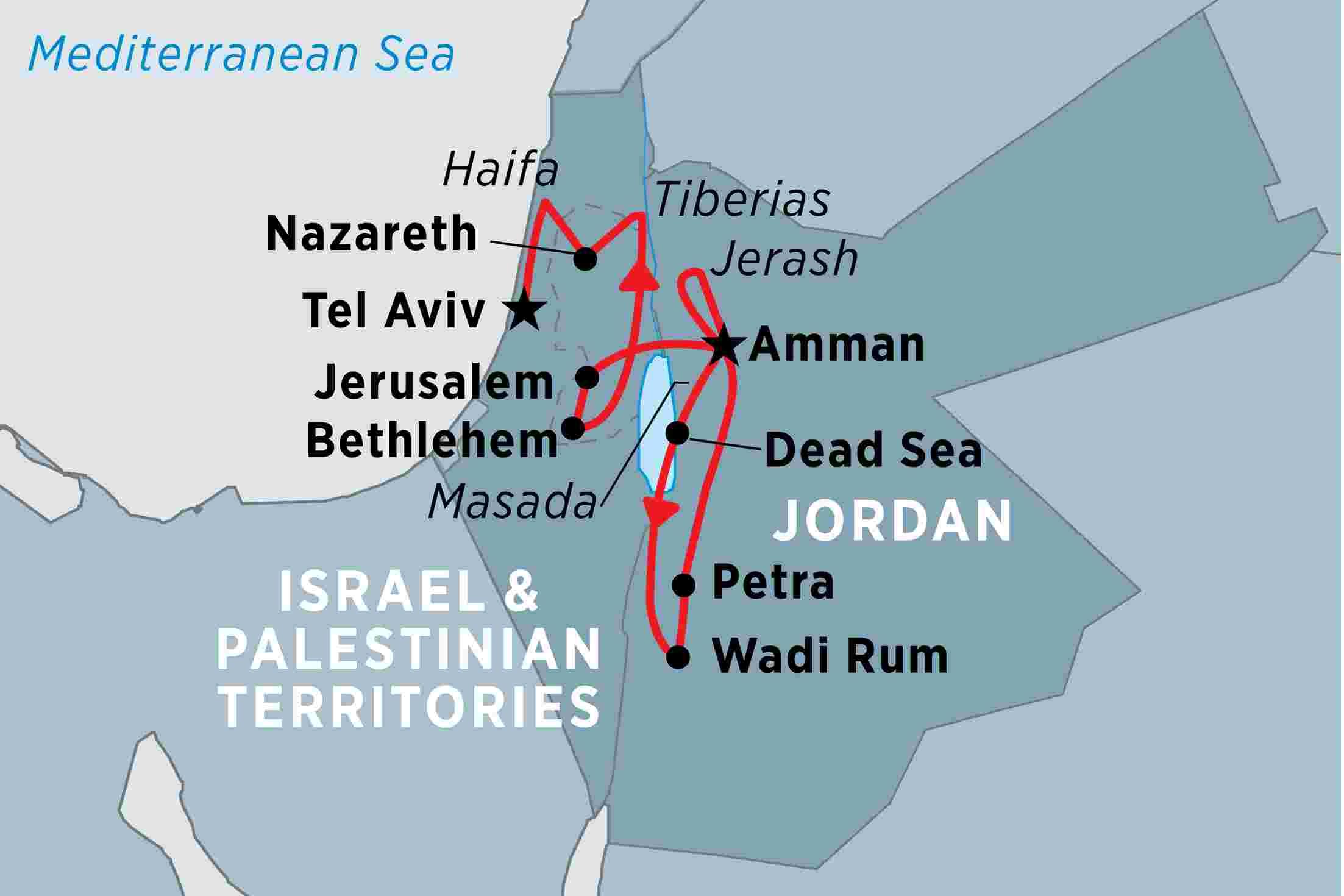 Jordan, Israel & the Palestinian Territories | Peregrine Adventures on