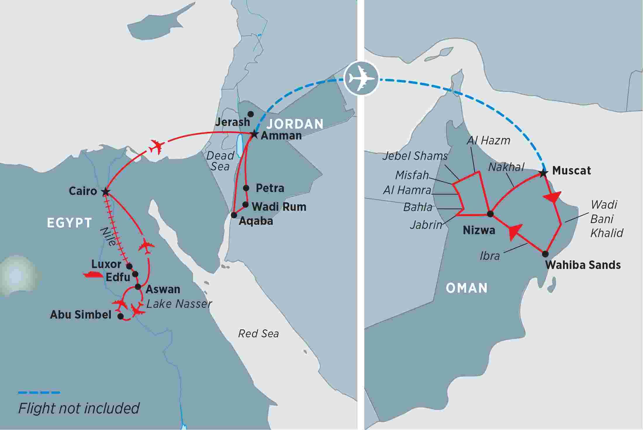 Egypt, Jordan & Oman overview   Egypt, Jordan & Oman EN-NZ