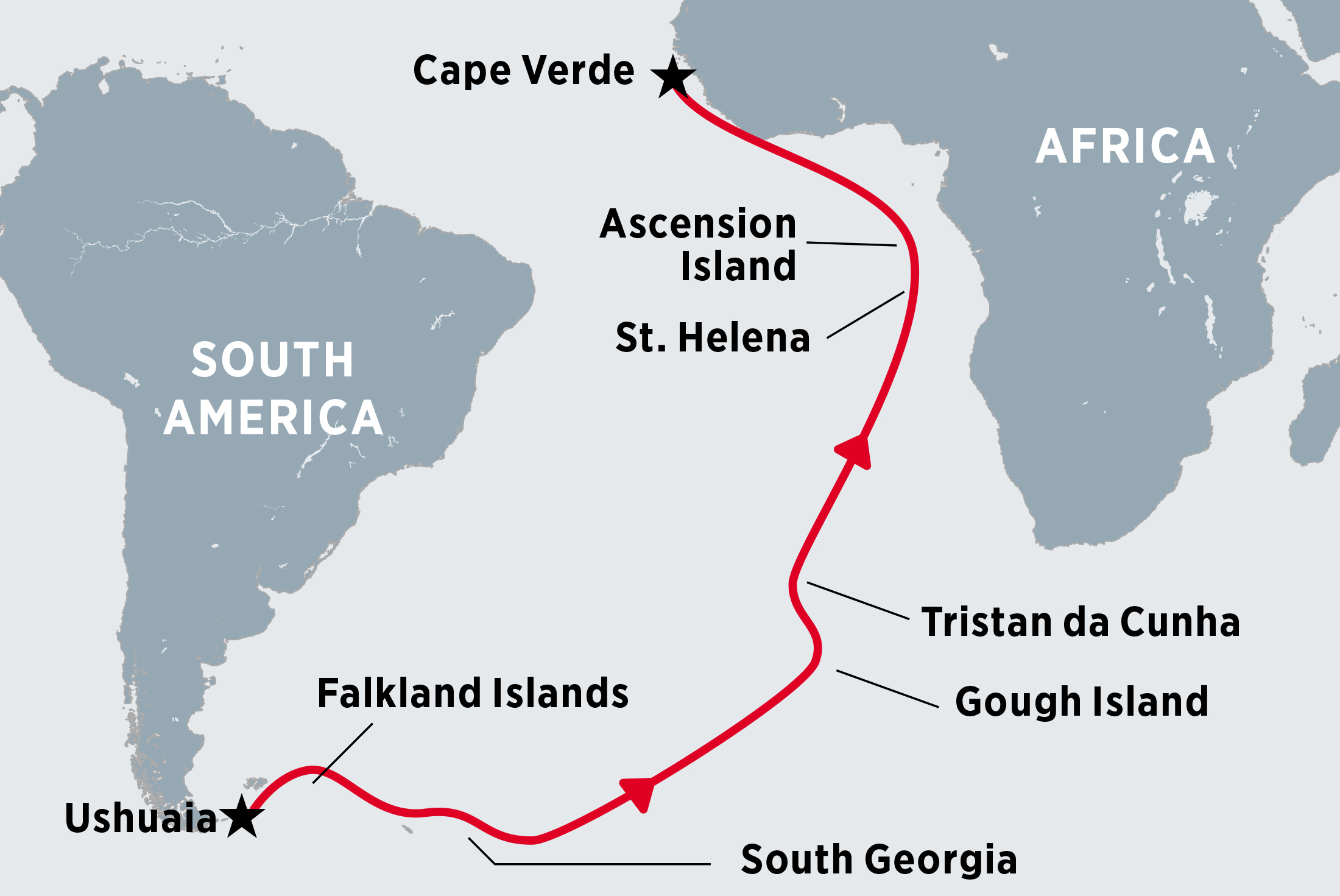 Ushuaia to Cape Verde via the Atlantic Islands Trip Notes ...