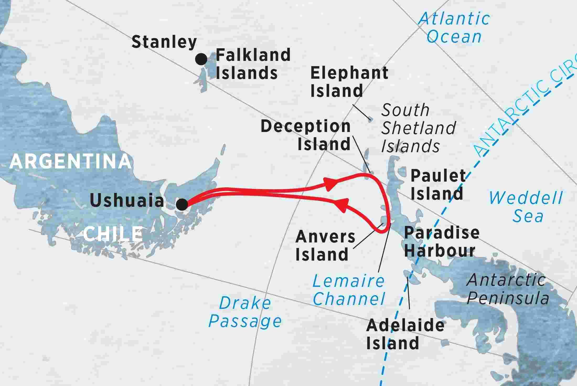 Antarctic Explorer (Sea Adventurer) 2017 - 2018 | Antarctica tours ...
