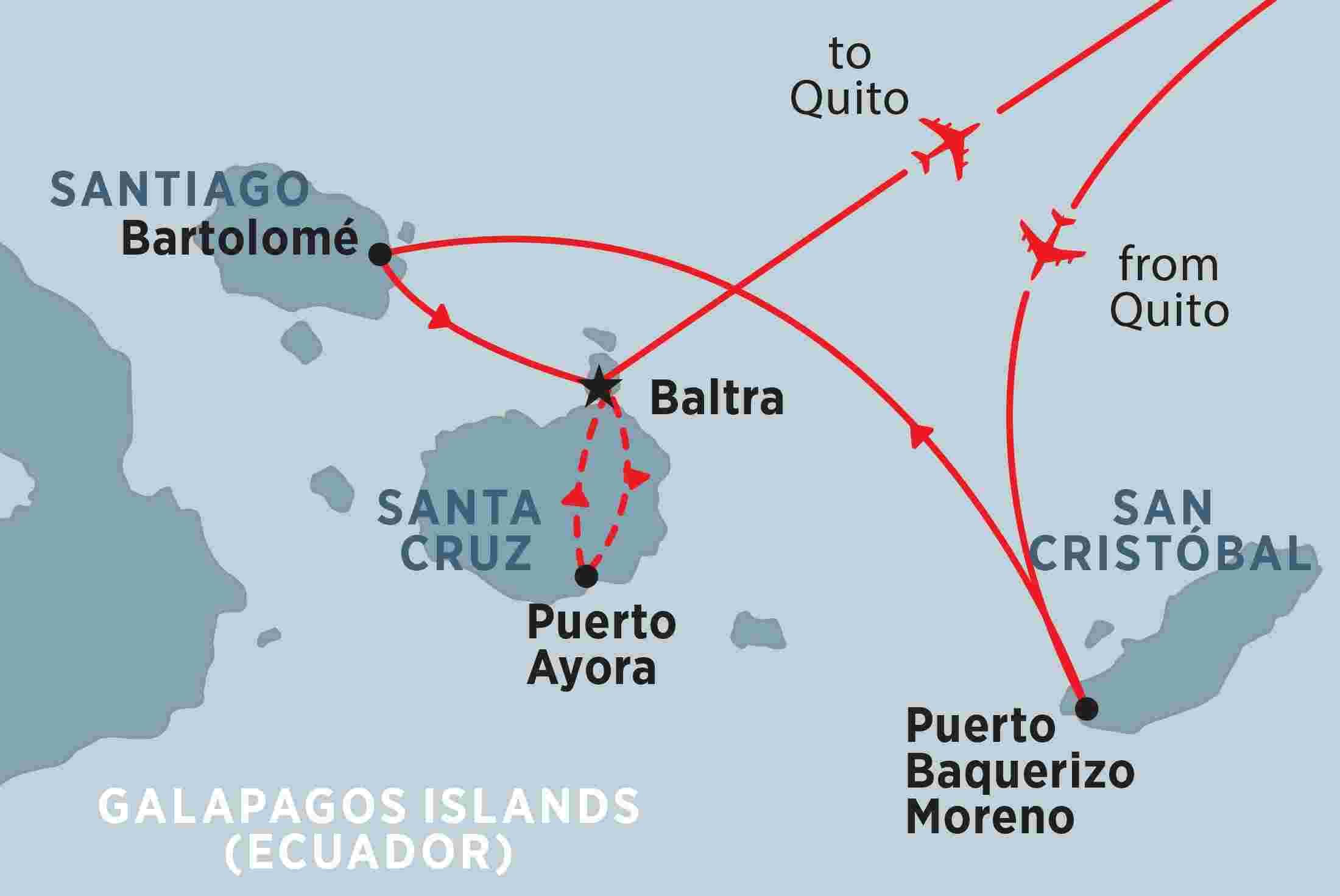 Galapagos Encounter Central Islands Grand Queen Beatriz Overview Galapagos Encounter Central Islands Grand Queen Beatriz