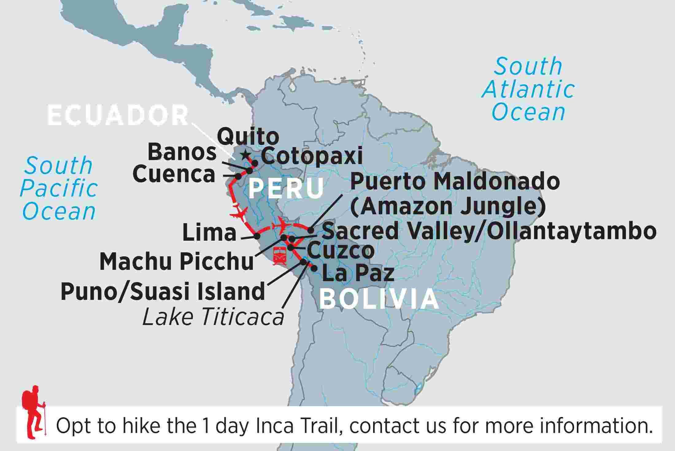 Ecuador Peru Bolivia Peregrine Adventures Au